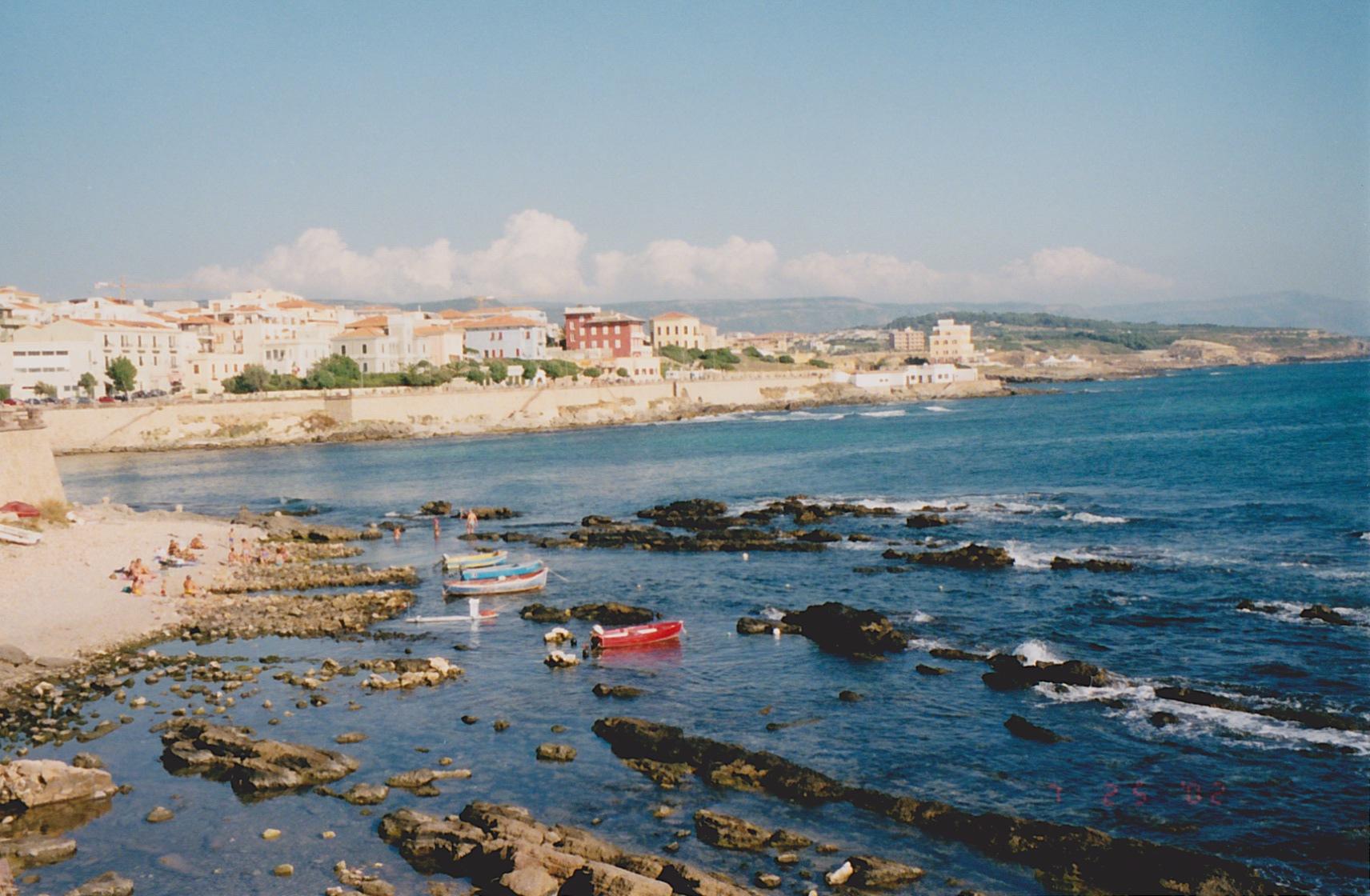 Alghero, Sardinia, 2002
